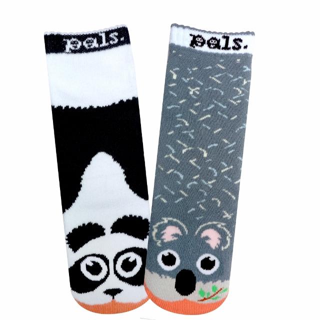 Socken Panda Vs Koala Rockthekid