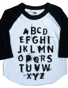 Raglan ABC Punk Rock the Kid Kinderkleider
