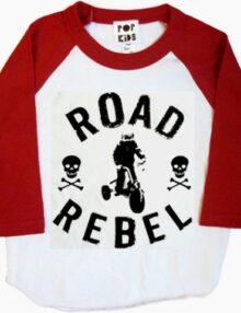 T-Shirt Road Rebel Jungskleider Rock the Kid