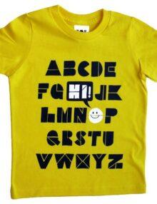 T-Shirt ABC Hi Rock the Kid Kinderkleider