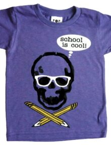 T-Shirt School is cool Rock the Kid Kinderkleider Schulbeginn