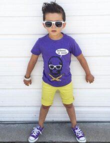 T-Shirt School is cool Kinderkleider Rock the Kid