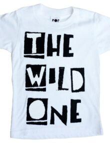 T-Shirt Wild One Kinderkleider Rock the Kid