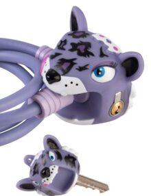Veloschloss Purple Leo